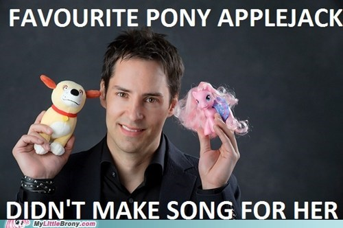 applejack,daniel ingram,meme,Music