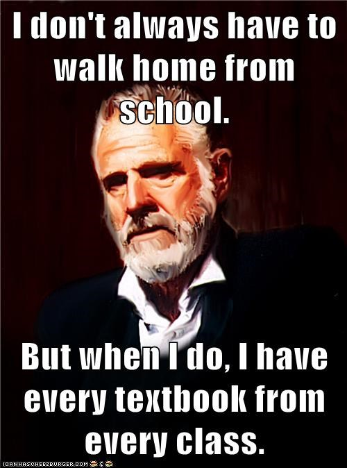 textbooks,walking,truancy story