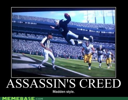 madden,assassins creed,video games