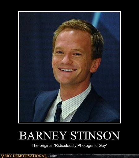 barney stinson hilarious ridiculously photogenic wtf - 6160803584