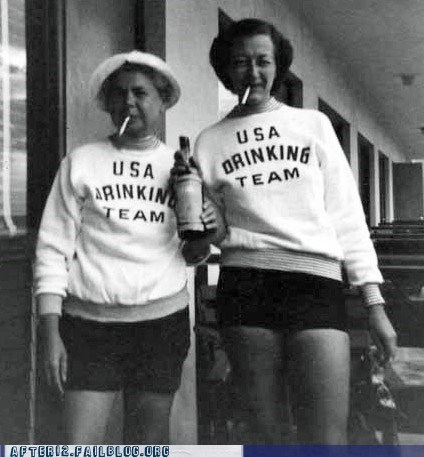 drinking team,London 2012,olympics,usa
