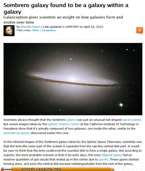 galaxception galaxy in a galaxy Inception yo dawg - 6161363712