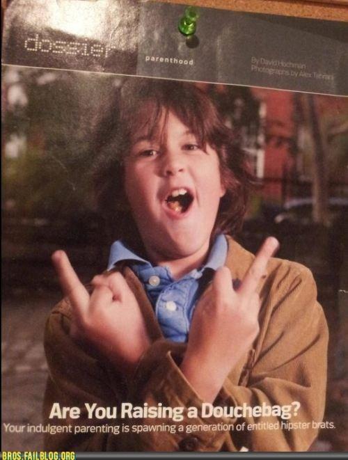 brats child douchebag hipster kid parenting - 6161397760