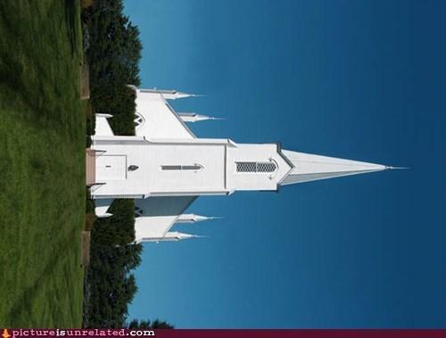 church sideways wtf - 6161573632