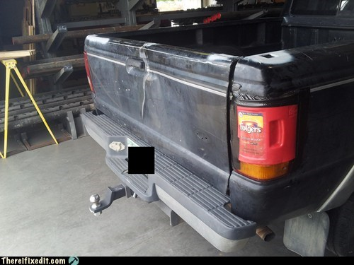 coffee,folgers,tail light,truck