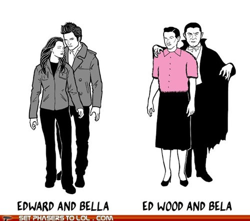 bela lugosi,bella swan,best of the week,dracula,ed wood,edward cullen,plan 9 from outer space,twilight,vampires