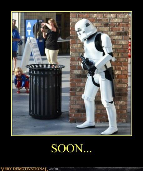 costume hilarious kid SOON stormtrooper - 6161667072