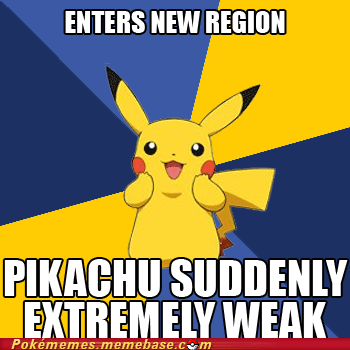 anime meme Memes new region pikachu pokemon logic - 6161771776