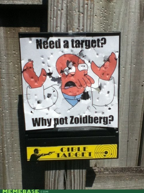 guns Target shooting why not zoidberg