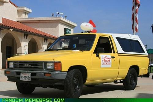 Fan Art movies pixar pizza planet truck - 6161918976