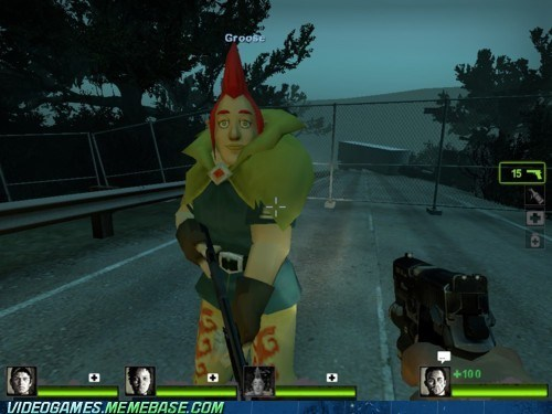 crossover,groose,Left 4 Dead,mod,the internets,wtf,zelda