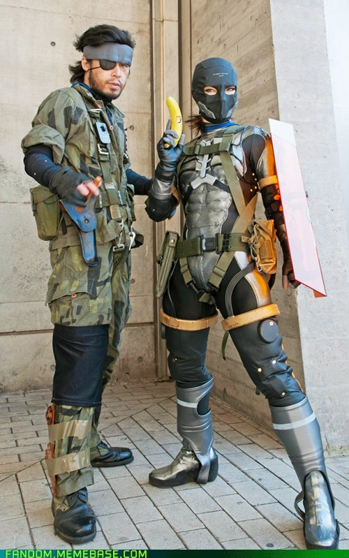 cosplay metal gear solid snake sneak suit video games - 6162149120