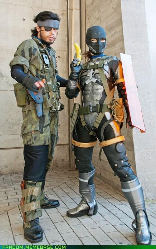 cosplay metal gear solid snake sneak suit video games - 6162149120