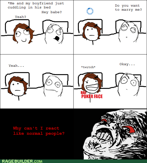 boyfriend cuddling marry normal people Rage Comics