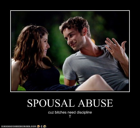SPOUSAL ABUSE cuz bitches need discipline T