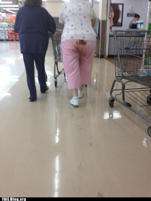 crap old lady pooped pants - 6162365696