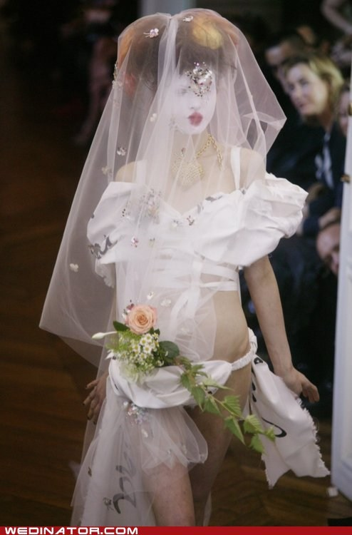 bridal couture bridal fashion funny wedding photos runway vivienne westwood wedding dress - 6162383616
