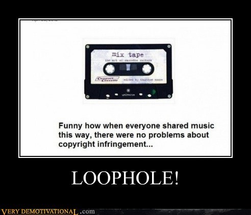 file sharing hilarious loophole tape wrong