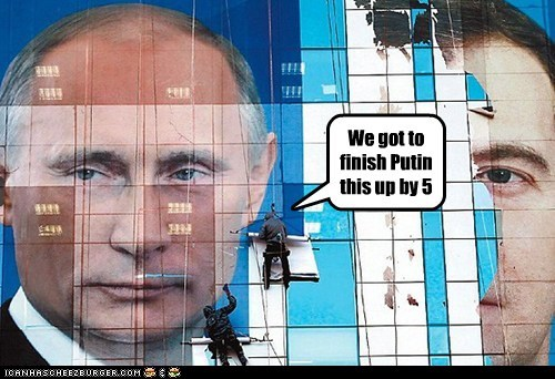 We got to finish Putin this up by 5