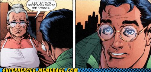 batman Clark Kent no parents Straight off the Page superman