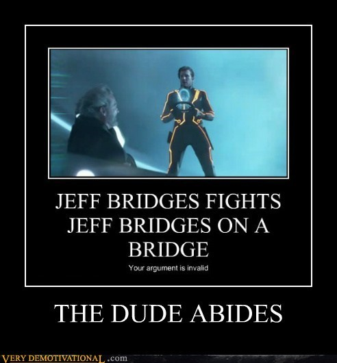 Big Lebowski hilarious jeff bridges the dude tron