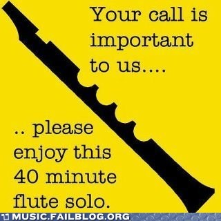 flute hold muzak on hold solo - 6165039360