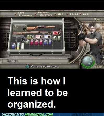 items,organization,resident evil 4,the internets