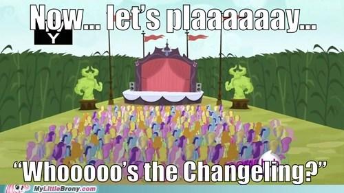 background ponies changelings guessing game meme - 6165125888
