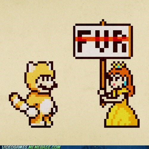 fur mario Protest Sad tanooki suit - 6165130496