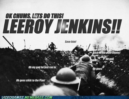 chicken leeroy jenkins meme - 6165136640