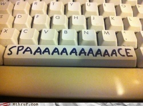 computer keyboard spaaaaaaaaaaaace spacebar - 6165183488