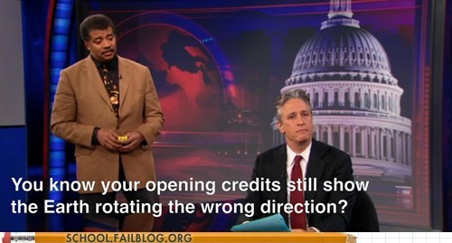fix it get it together jon stewart Neil deGrasse Tyson the daily show - 6165186560