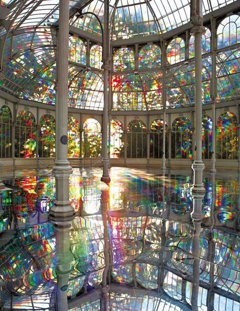 architecture,crystal,Hall of Fame,Spain