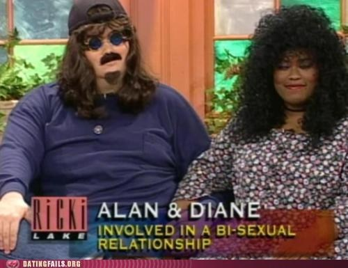 alan and diane,bisexual relationship,ricki lake,talk shows