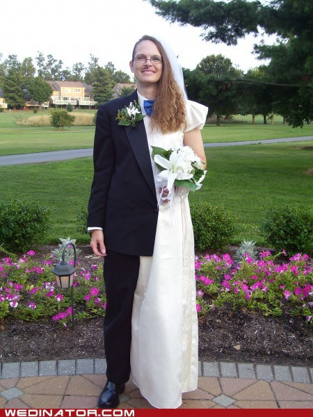 bride,costume,funny wedding photos,groom