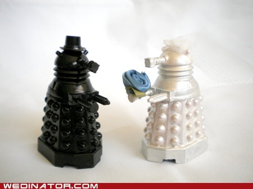 Exterminate cake toppers daleks doctor who - 6165388288