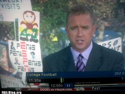 college football,espn,fail nation,funny sign,sports