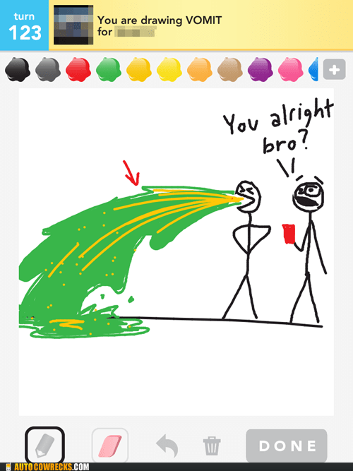 coins draw something throwing up vomit - 6165558016