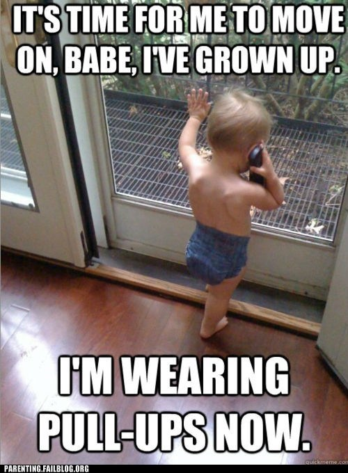 baby cell phone grown up pull ups - 6165617408