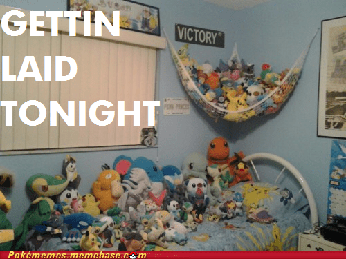 Dat Ash,getting laid,IRL,Plush,toys,victory road