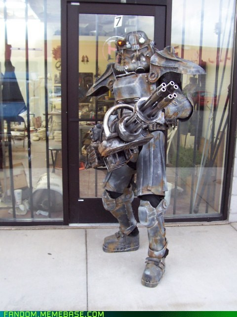 cosplay,fallout,power armor,video games
