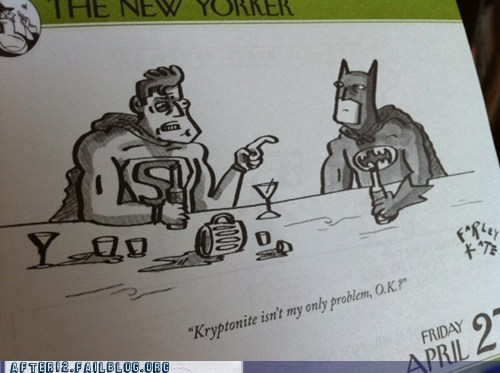 alcoholic batman kryptonite superman - 6166079488