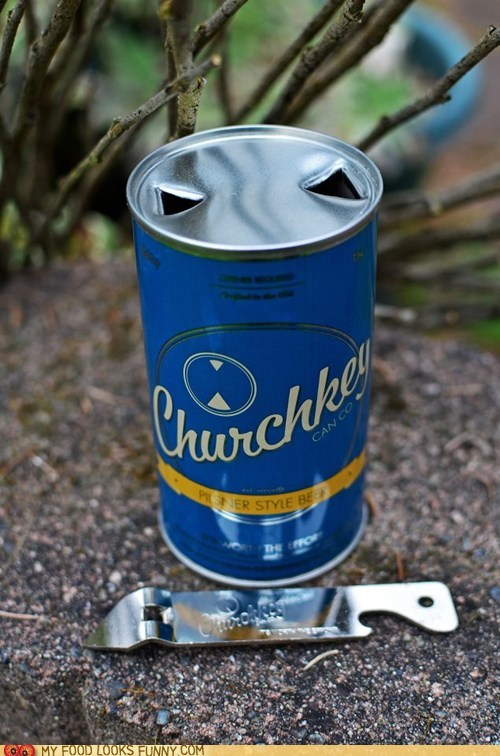 beer can churchkey new retro - 6166089984