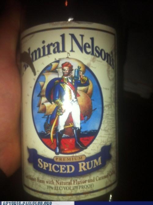 admiral nelson captain morgan - 6166106368
