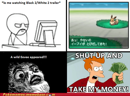 Battle,black and white 2,eevee,rage comic,Rage Comics