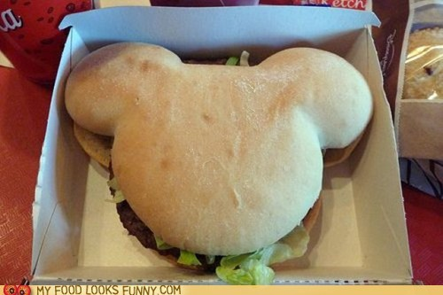 burger concessions disney mickey mouse mouse ears - 6166226688