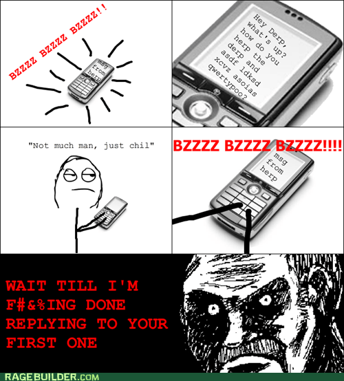 annoying omg phone Rage Comics reply text - 6166289408