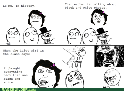 all that racket,color,no,Rage Comics,truancy story