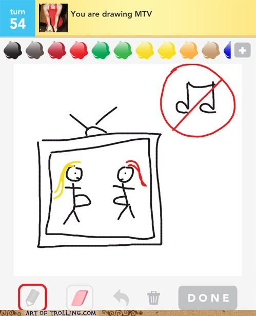 drawing with friends,mtv,obvious,trolling,wtf