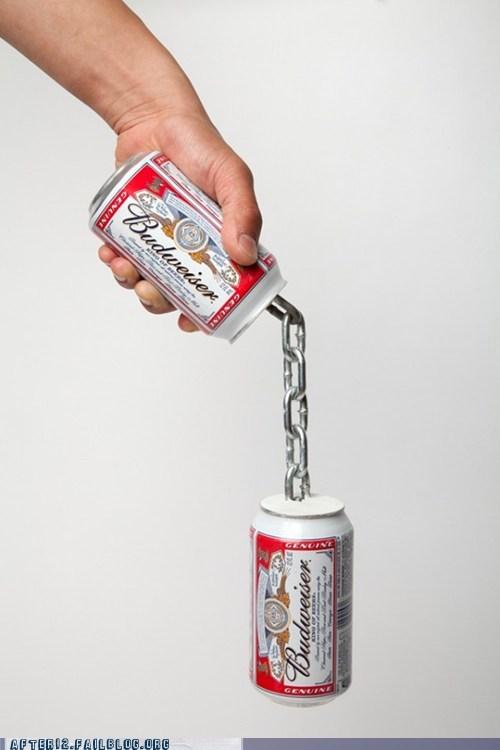 beer beer cans bud budweiser nunchuks - 6166450944